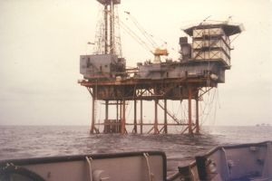 North Sea Drill Platform