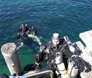 Tek diver training