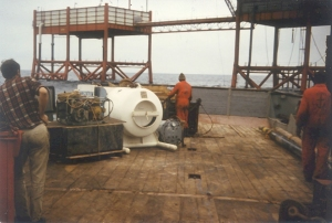 North Sea Production Platform