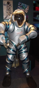 2003 Design model of Phil Nuyten's 'Exo-Suit' .