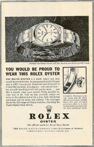 Rolex advert RN Diving Magazine 1964